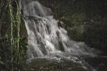 Salto de agua.